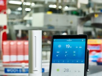 Henkel implements Netatmo's smart home technology in its manufacturing plants.